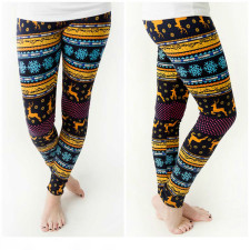 Christmas Eve Leggings 23407-4