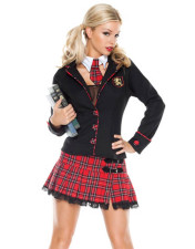 Seductive School Girl Costume 10534