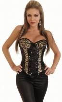 Leopard Sexy Corset 11472