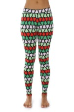 Christmas Patterns Sexy Fitness Leggings  23512