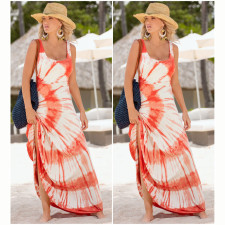 Stylish Summer Long Beach Dress 20559