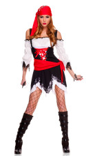 Pirate Vixen Girl Costume 11803