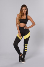 Yoga Bra and Long Pant Set 20221-2
