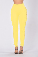 Sexy Hollow-Out High Waist Leggings 23393-4