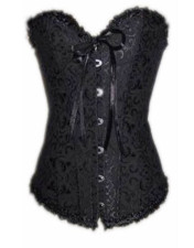 Lace Sweetheart Corset 12878-10