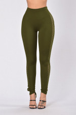 Sexy Hollow-Out High Waist Leggings 23393-6