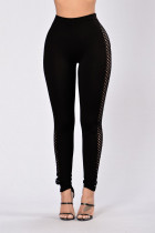 Sexy Hollow-Out High Waist Leggings 23393-1