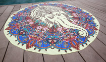 Gypsy Mandala Tela de gasa Ronda Playa Throw Tapiz 21119-10