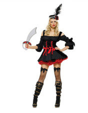 Pirate Wench Costume 11025