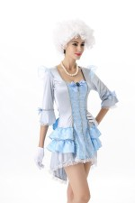 White Bride Hallween Costumes 22601
