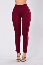 Sexy Hollow-Out High Waist Leggings 23393-3