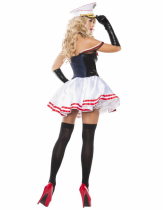 Sexy Female Sailor Costume for Halloween Carvinal 22226