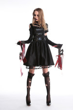 Killer Women Costume for Halloween Carvinal 22643