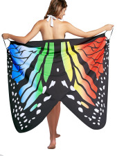 Serviette de plage papillon multi-voies 26397-2