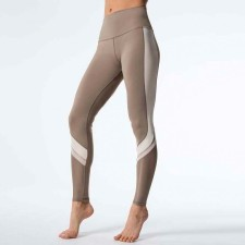 Two Color Patchwork Fitness Leggings 26573-2