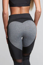 Sexy Patchwork Fitness Pants 26253-1