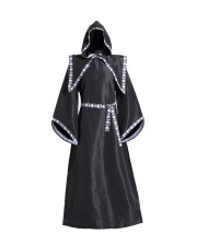 Black and White Skeleton Robe for Halloween 27339