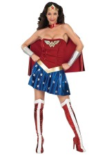 Sexy Super Hero Woman Costume 27405