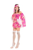 Cheer Leader Robe Rose 27343
