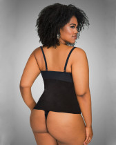 Plus Size One-Piece Bodysuit
