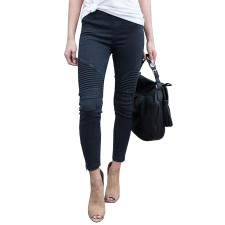 Black Stripped Jeans 28345-1