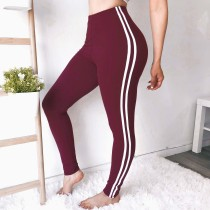 Sports Blank Legging with Contrast Band