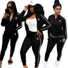 Print Long Sleeve Tracksuit