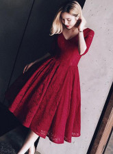 Bridemade Red Wedding Dress