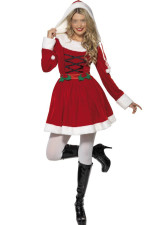 Santa Helper Red Costume
