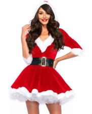 Santa Helper Adult Dress Costume