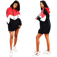 Block Color Long Sleeve Tall Hoody