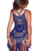 Sexy Crochet Tassels Cover-Up