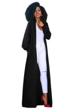 Top-to-Toe Overall Coat with Pop Sleeves