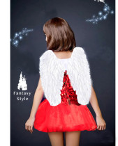 Sequins Angel Dress with Wing
