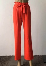 Loose-fitted Casual Trouser with Belt
