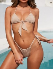 Two-Piece Tied Brazilian Swimwear