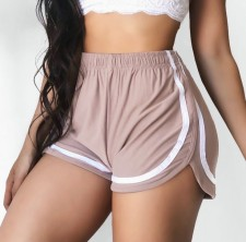 Sports Sexy Shorts with Contrast Trim