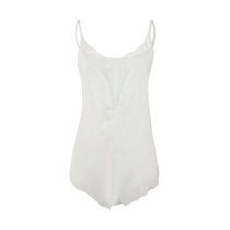 Lace Detailed Sexy Straps Vest