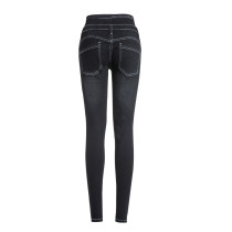 High Waist Stylish Stretch Jeans