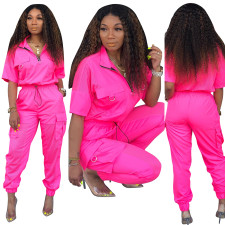 Pink Active Pocket Sweat and Pop Pants