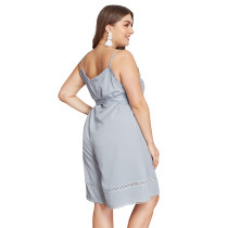 Plus Size Straps Casual Dress