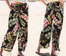 Seaside Print losse broek