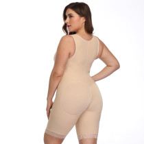 One-Piece Sleeveless Wrap Shaper Wear
