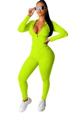 Sports Sexy Tight Fitting Hoody Tracksuit with Full Sleeves
