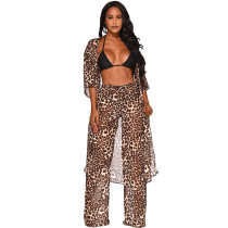Print Leopard Pants and Cover Ups
