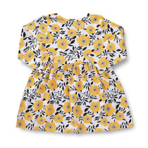 Kids Girl Flower Print Summer Dress