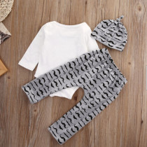 Baby Boy Print Summer 3 PCS Set