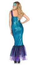 Blue and Purple Sexy Mermaid Costume