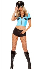 Police Women Sexy Costume