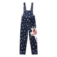 Kids Boy Christmas Bib Pants